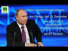 Putin gibt Jahres-Pressekonferenz - Live und in deutscher Übersetzung - YouTube