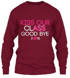 Senior Shirt Class of 2016