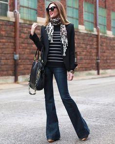 look-calca-jeans-flare-e-blazer-preto                                                                                                                                                      Mais