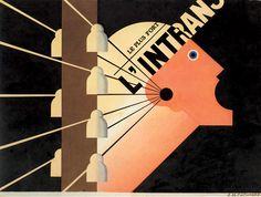 A.M. Cassandre para L'Intransigeant 1925.