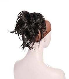 Onedor 12 Inch Adjustable Messy Style Ponytail Hair Extension Synthetic HairPiece with Jaw Claw  What style will you wear today? Do you need an elegant Ponytail for a special occasion?    Well, look no further, because this synthetic fiber hair Ponytail creates an elegant ponytail accent that can be worn for a prom, wedding, or evening out. Based on years of research and experience, Onedor brings its product excellence in materials, constructions appearance and comfort. Our ponytail ..