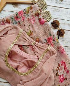 New Saree Blouse Designs, Simple Blouse Designs, Stylish Blouse Design, Bridal Blouse Designs, Stylish Dress Designs, Blouse Patterns, Boutique, T Shirts, Carnation