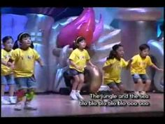 ▶ who is the king of the jungle.mpg action songs for sunday school - YouTube