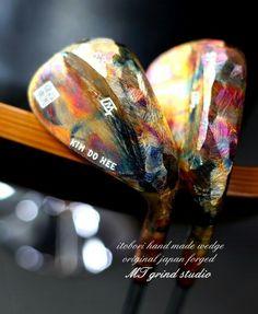 ART OF WEDGE Itobori chameleon copper finish PMJ GOLF STUDIO.