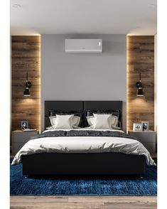 26 Rustic Bedroom Design and Decor Ideas for a Cozy and Comfy Space - The Trending House Master Bedroom Interior, Modern Master Bedroom, Modern Bedroom Design, Stylish Bedroom, Master Bedroom Design, Minimalist Bedroom, Home Interior, Home Decor Bedroom, Interior Design