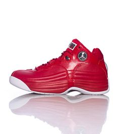 92a388f7a61ff6 Nike Jordan Men s Jordan Jumpman Team 1 Gym Red White Black Basketball Shoe  Men US. Brand new. Nike Zoom units in the heel and forefoot.