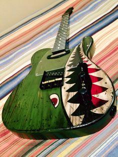 Guitars_Addiction Custom Flying Tiger Telecaster