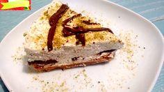 Un cheesecake al pistacchio variegato nutella da realizzare in poco tempo: senza colla di pesce e cottura