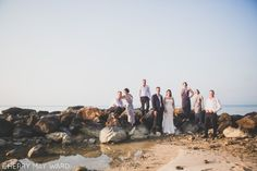 Koh Samui cool bridal party portrait, Thailand wedding photographer