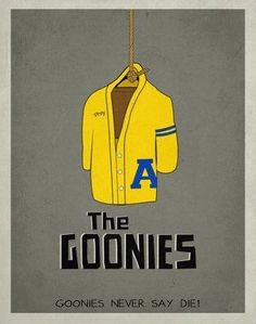 The Goonies minimalist movie poster