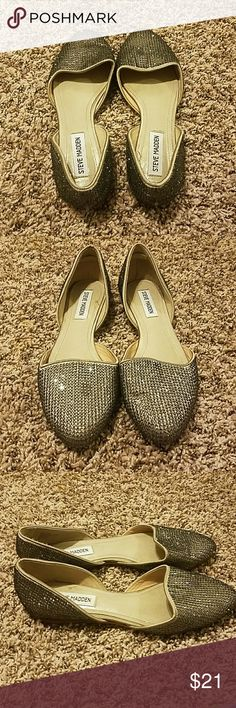Steve Madden flats Perfectly used Steve Madden Shoes Flats & Loafers