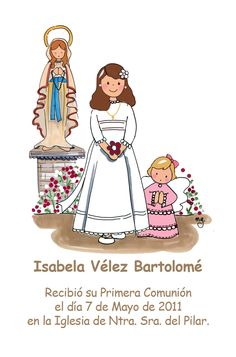Todo para tu Primera Comunión! Page Borders Design, Border Design, Baptism Cookies, Religious Images, Prayer Cards, Princess Zelda, Disney Princess, First Communion, Christening