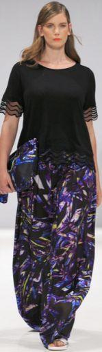Летняя мода для полных женщин. Модные летние костюмы для полных 2016 [фото]