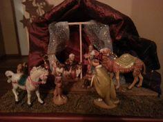 We three kings. Fontanini Nativity, We Three Kings, Christmas, Painting, Art, Yule, Xmas, Painting Art, Paintings