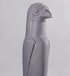 Gustave Miklos (1888 - 1967)  Oiseau 1929 Bronze à la cire perdue 84 x 20 x 20 cm (Fondeur : Valsuani) Inscriptions : S.D.CA.B.G. sur le côté : G Miklos 29 / Valsuani, cire perdue Achat Numéro d'inventaire : AM 662 S Centre Pompidou
