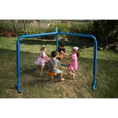 Backyard Merry Go Rounds . Backyard Merry Go Rounds . Ironkids Four Station Fun Filled Merry Go Round Merry Go Round Playground, Playground Swing Set, Backyard Swing Sets, Backyard Playground, Playground Ideas, Backyard Ideas, Backyard Games, Play Swing, Toddler Playground
