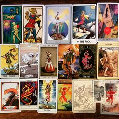 O. The Fool. Spirit in search of experience, potential, innocence, spontaneity, beginnings, joy, joie de vivre, naivete, risk, enthusiasm, optimism, brashness, eccentricity, adventure, leap of faith, individuality, recklessness, the unexpected. #tarot