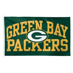 NFL Green Bay Packers Team House Flag