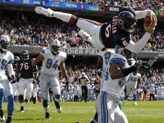 """Chicago Sports & Travel Inc./ Allsport s A m e r i c a """"America's Finest Sports Fan Travel Club, May We Plan An Event Or Sports Trave. Bears Football, Football Baby, Football Stuff, Jay Cutler Chicago Bears, Nfl Womens Jersey, Plays In Chicago, Sports News Update, Sport Girl, American Football"""
