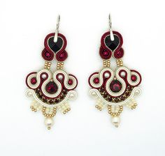Hey, I found this really awesome Etsy listing at https://www.etsy.com/listing/190561919/soutache-earrings-regency-wedding