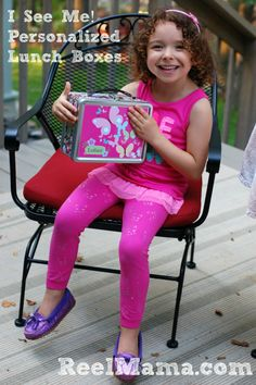 Get a personalized lunch box for your child with I See Me
