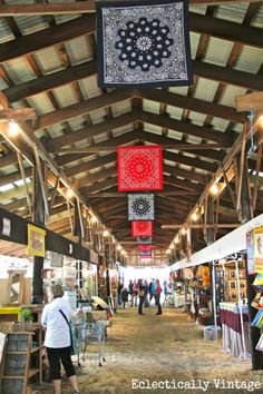 A Day at the Country Living Fair at the Dutchess Fairgrounds in Rhinebeck, New York - tons of fabulous pictures!