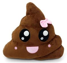 Poop Emoji Pillow Emoticon Stuffed Plush Toy Doll Smiley Cat Heart Eyes Alien Devil Kiss Face (PINKPOOP), http://www.amazon.com/dp/B019GZCJAI/ref=cm_sw_r_pi_awdm_x_b5i2xbRZ8TAPF