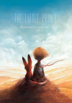 The little prince book cover by Anuk.deviantart.com on @DeviantArt