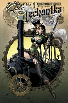 18thcenturytears: Lady Mechanika