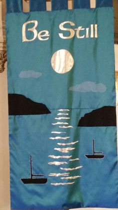 I saw this banner in a church in Tenby, it felt very apt.