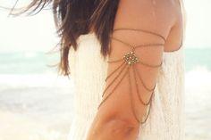 Arm chains.