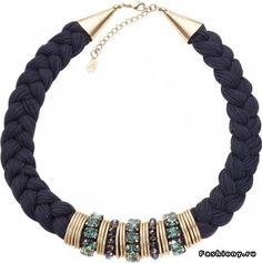 Ожерелья. Обязательно ли покупать в магазине? / ожерелье из ниток мулине