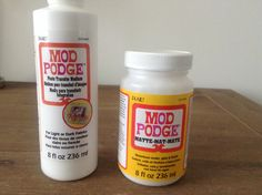Mod Podge matte vs Mod Podge Photo Transfer Medium I'm writing this post to help explain the difference between these two products. In the past, I had searched many tutorials and now know that ther...