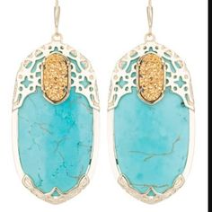 Kendra Scott really ISO these earrings I wanna make an Elton to go with my gold drusy set! If you have please let me know!! Thank you! Kendra Scott Jewelry Earrings