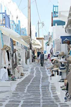Mykonos is one of the most visited and iconic of the Greek Islands. Great beaches, restaurants, traditional architecture and a vibrant night life make it a favorite. www.compassandfork.com