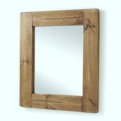 chunky old wood framed mirrors by horsfall & wright - chalkboards, lighting & household | notonthehighstreet.com