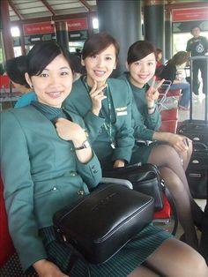 Eva Air Stewardess Photos ~ Cabin Crew Photos