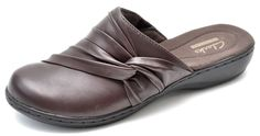 Clarks Collection LEISA DEINA Brown Clogs Mules Women's 6.5 - NEW - 01785 #Clarks #Mules #Casual