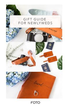 Gifts for Newlyweds Leather Camera Strap, Camera Straps, Newlywed Gifts, Gifts For Photographers, Practical Gifts, Personalized Products, Business Branding, New Life, Newlyweds