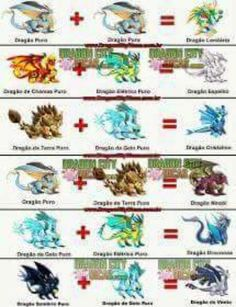#dragoncity Pokemon Fusion, Dragon City Game, Minecraft, Manga, Drink, Random, Game, Magical Creatures, Color Combinations