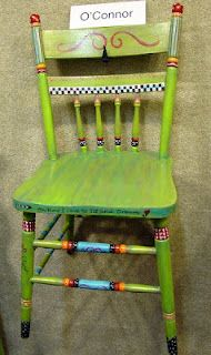 """""""Oh how I love to sit and Dream"""" chair"""