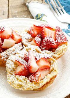 Barefeet In The Kitchen: Mini German Pancakes