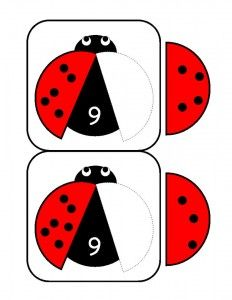 ladybugs math activities printables (31)