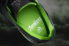 Adidas and Marvel Join Forces To Alleviate Your Migraines With Kids Running Shoes -  #adidas #ageofultron #Avengers #marvel #shoes