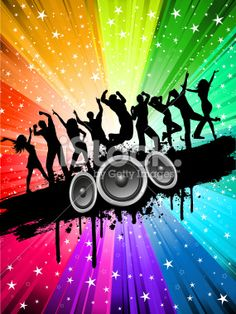 Grunge party Royalty Free Stock Vector Art Illustration