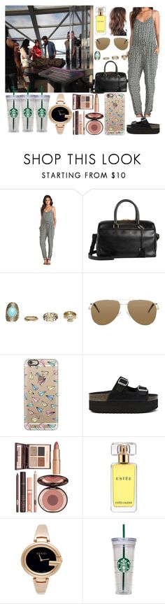 """""""Visiting the Museum with Sophia and Liam"""" by zandramalik ❤ liked on Polyvore featuring Free People, Yves Saint Laurent, Wet Seal, Casetify, Jeffrey Campbell, Charlotte Tilbury, Estée Lauder, Gucci and WALL"""