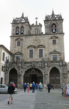 The Cathedral, Braga, Portugal save up to 70% on all #business and #firstclass airfare www.flywithclass.com