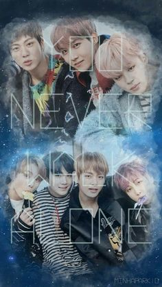 BTS WALLPAPER  YOU NEVER WALK ALONE #YNWA