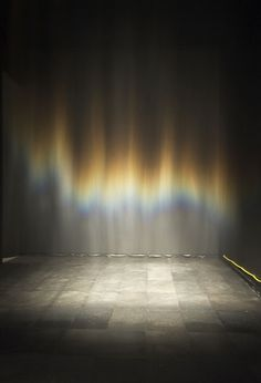 Just the most beautiful experience I've had in a gallery. Thanks to Olafur Eliasson - aurora borealis recreated...