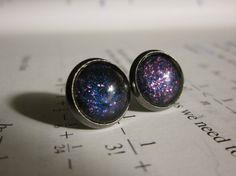Dark Matter   Earring studs  science jewelry  by DarkMatterJewelry, $10.00